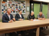 Trainers-en begeleidingsstaf voor Nuenen mannen 1&2 en Vrouwen 1 seizoen 2020-2021